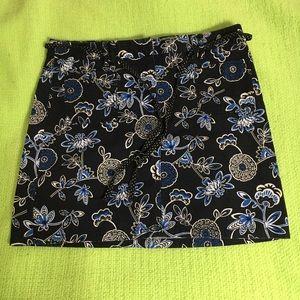 Loft floral skirt